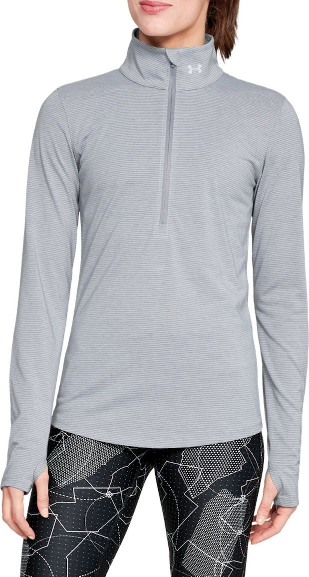 Langarm-T-Shirt Under Armour Threadborne Streaker Hlf Zp