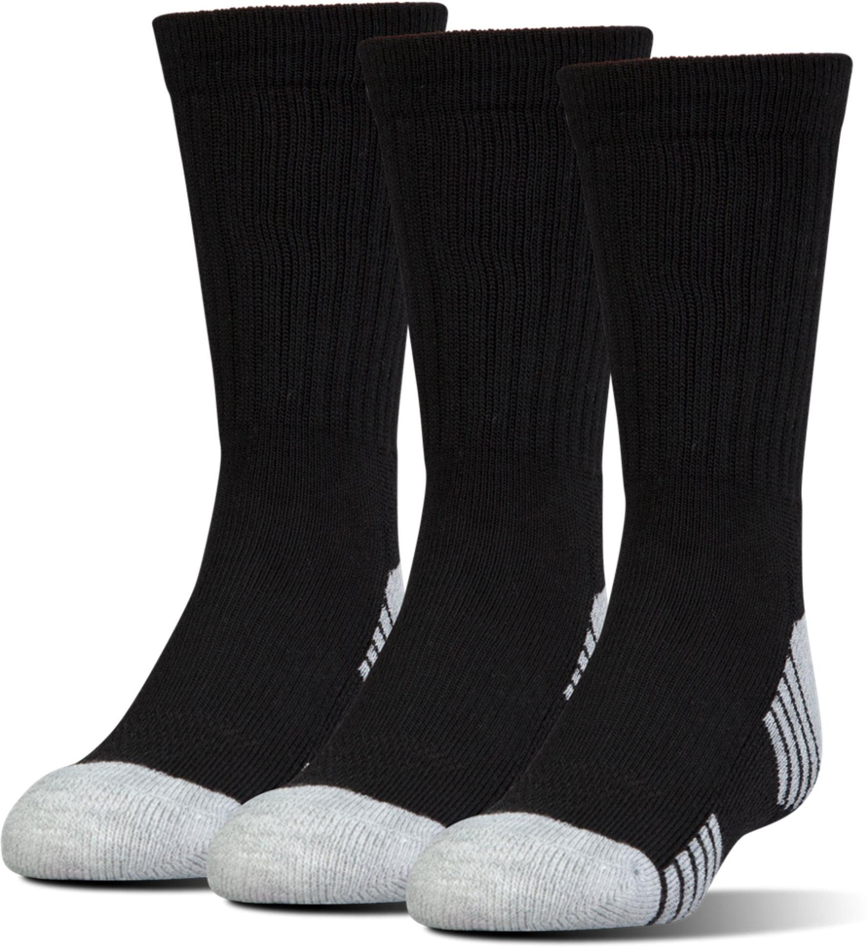 Socken Under Armour Boy UA Heatgear Crew 3 Pair