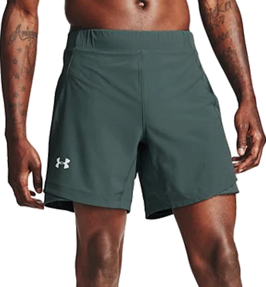 Shorts Under Armour UA QUALIFIER SPEEDPOCKET 7 SHORT