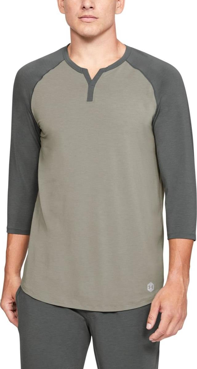 Langarm-T-Shirt Under Armour UA Recover Sleepwear Henley