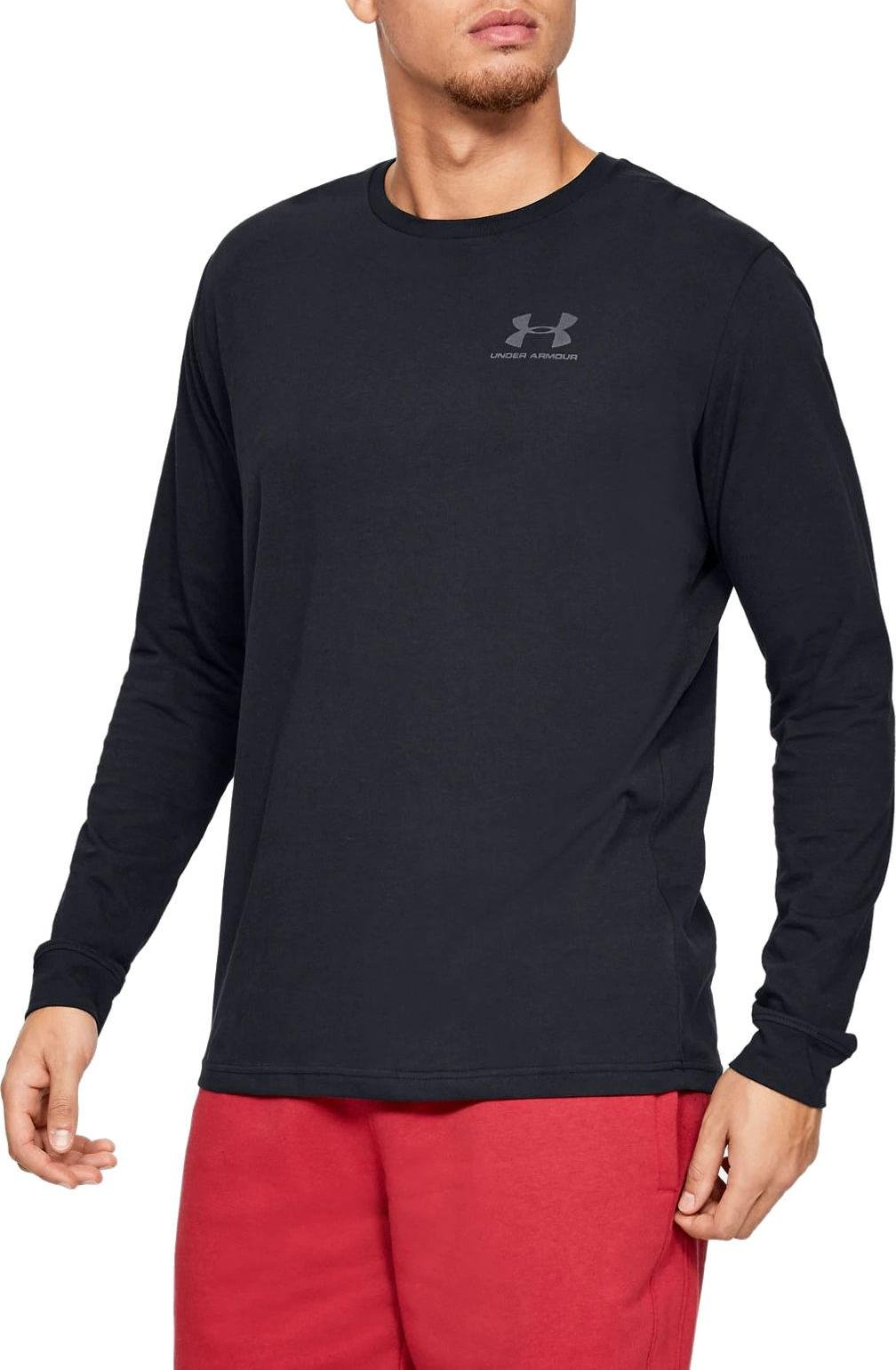 T-Shirt Under Armour UA SPORTSTYLE LEFT CHEST LS