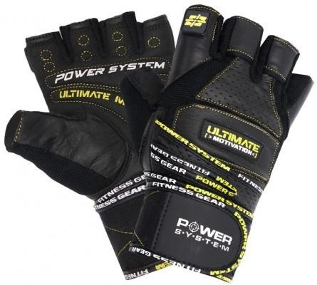 Handschuhe Power System POWER SYSTEM-GLOVES ULTIMATE MOTIVATION-YELLOW